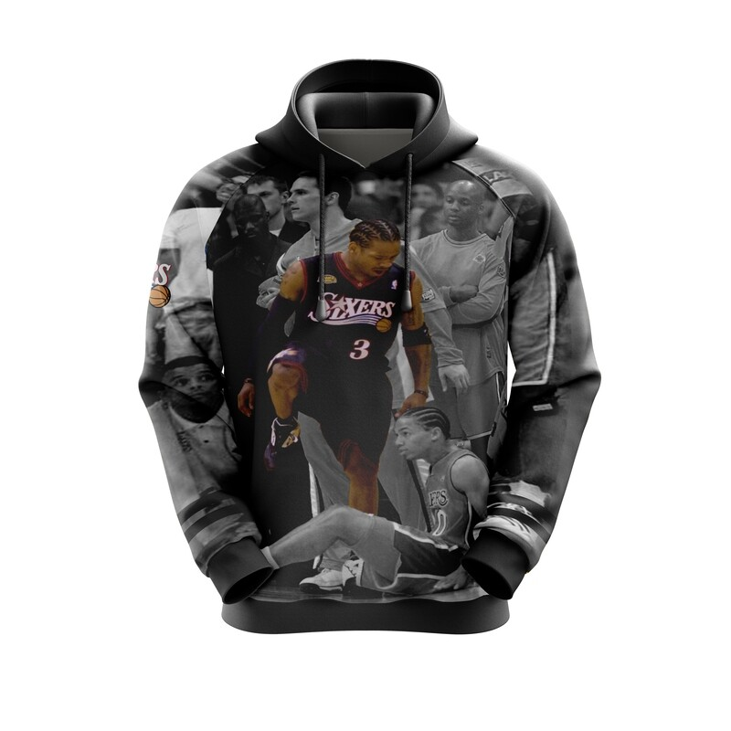 Iverson step over   Full Print Hoodie