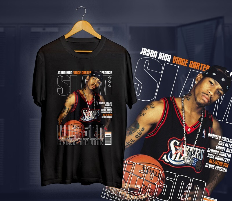 Iverson Slam t-shirt