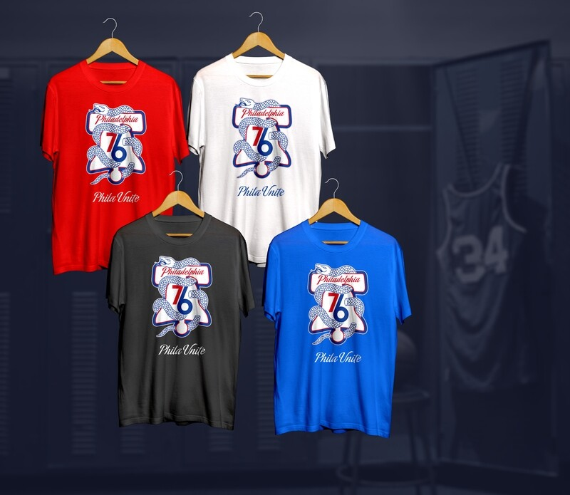 Phila History t-shirts