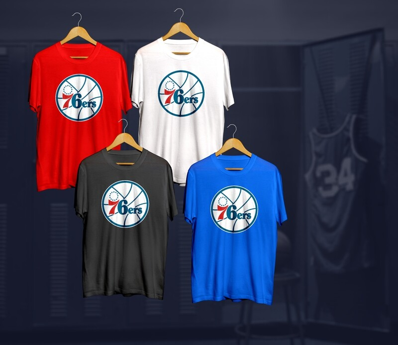 Sixers  t-shirts