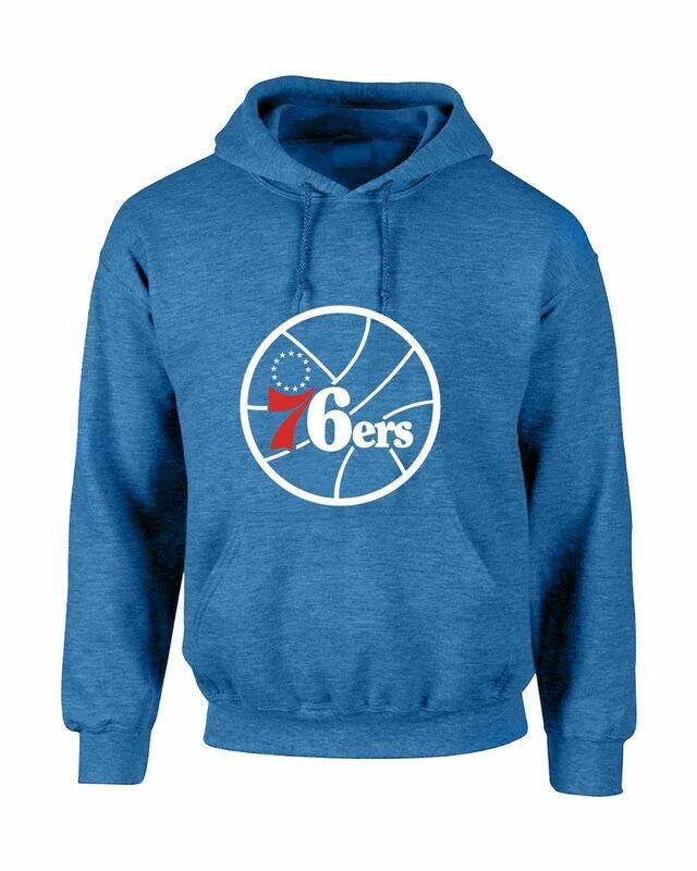 OFFER 76ERS HEATHER BLUE LARGE
