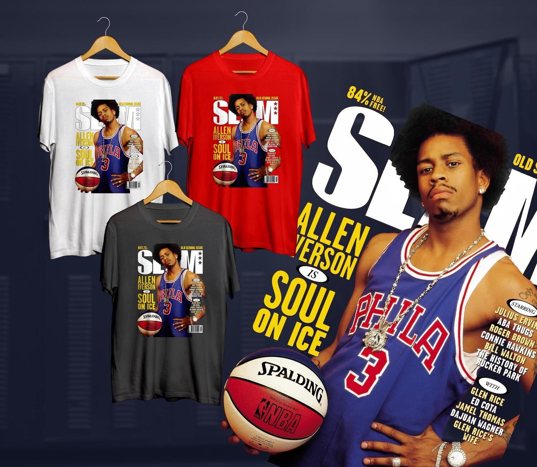 Iverson rookie Slam t-shirt