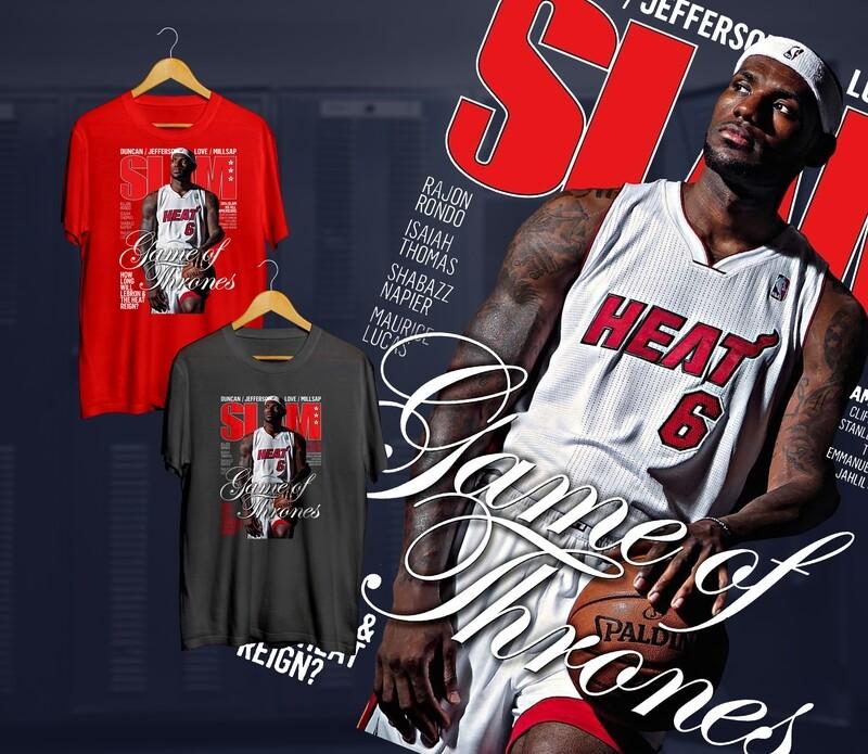 Bron Heat Slam t-shirt
