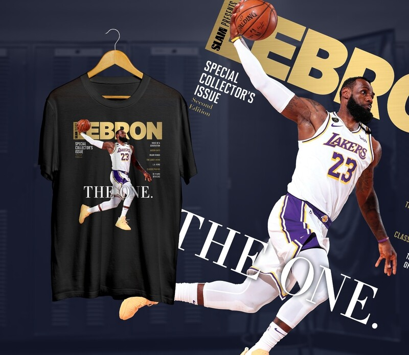 Bron the one Slam t-shirt