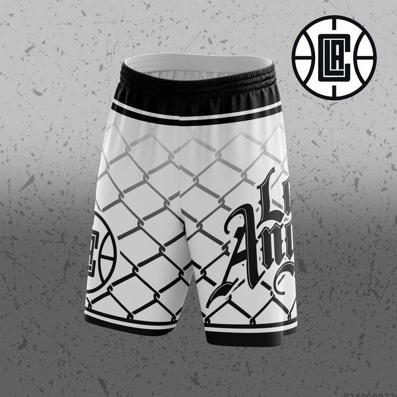 Clippers  Big Logo Shorts