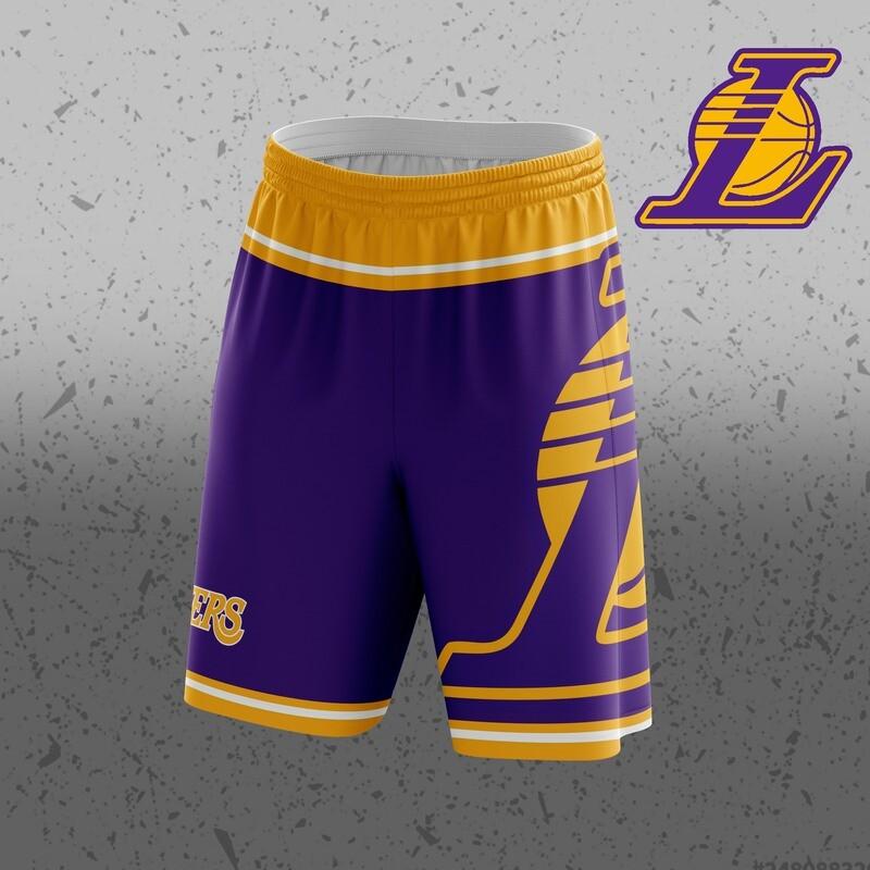 Lakers  Big Logo Shorts