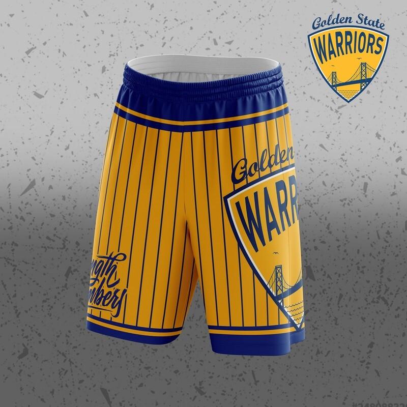 Golden state Big Logo Shorts