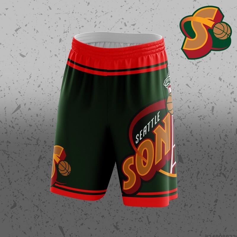 Supersonics Big Logo Shorts