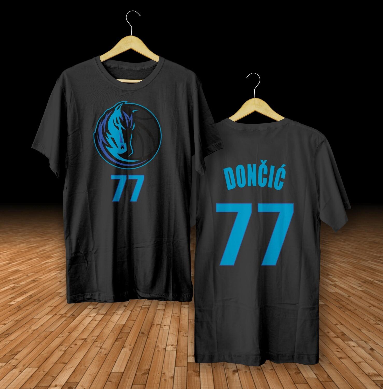 Doncic Dallas black t-shirt