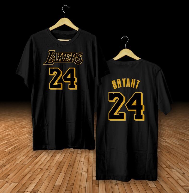 Bryant black gold  t-shirt