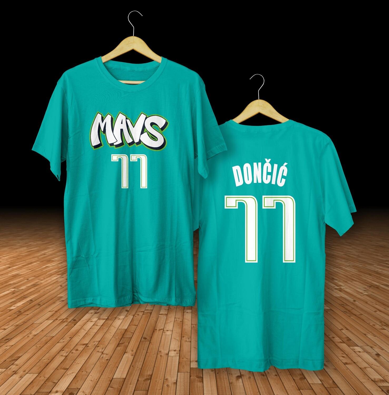 Doncic Dallas city  t-shirt