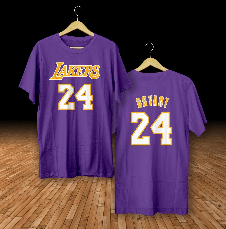 Bryant purplet-shirt
