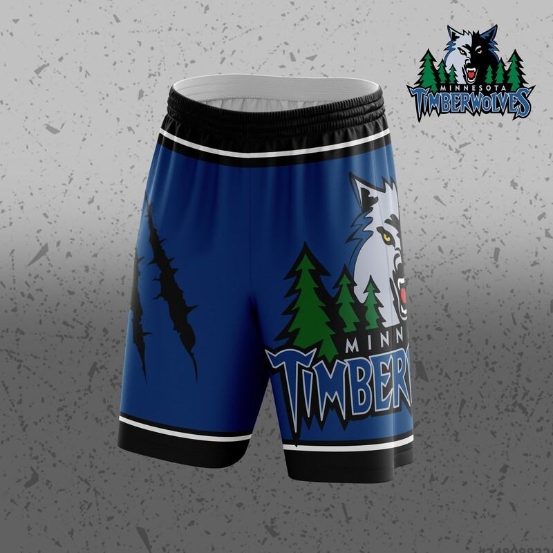 Minesota  Big Logo Shorts
