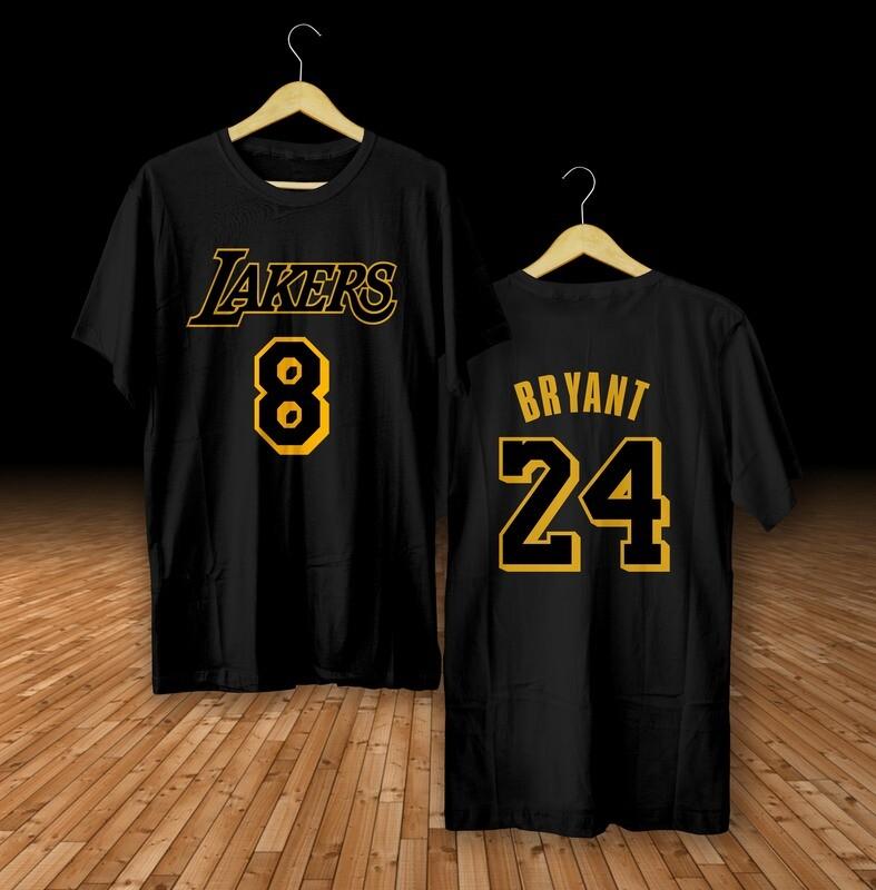 Bryant 8-24 black t-shirt