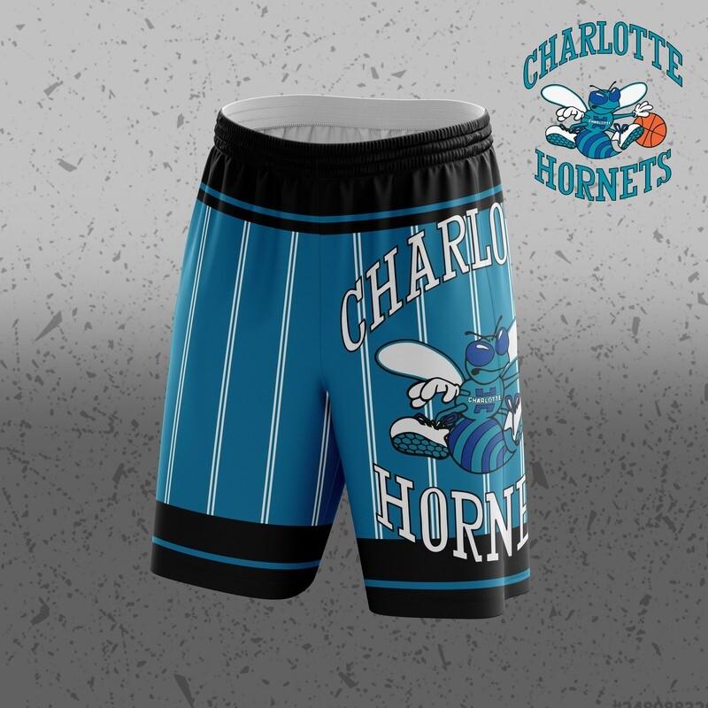 Hornets   Big Logo Shorts