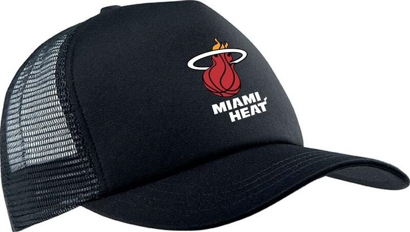 Miami heat black cap