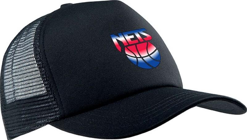 Nets Retro black cap