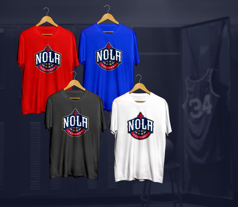 Pelicans t-shirts