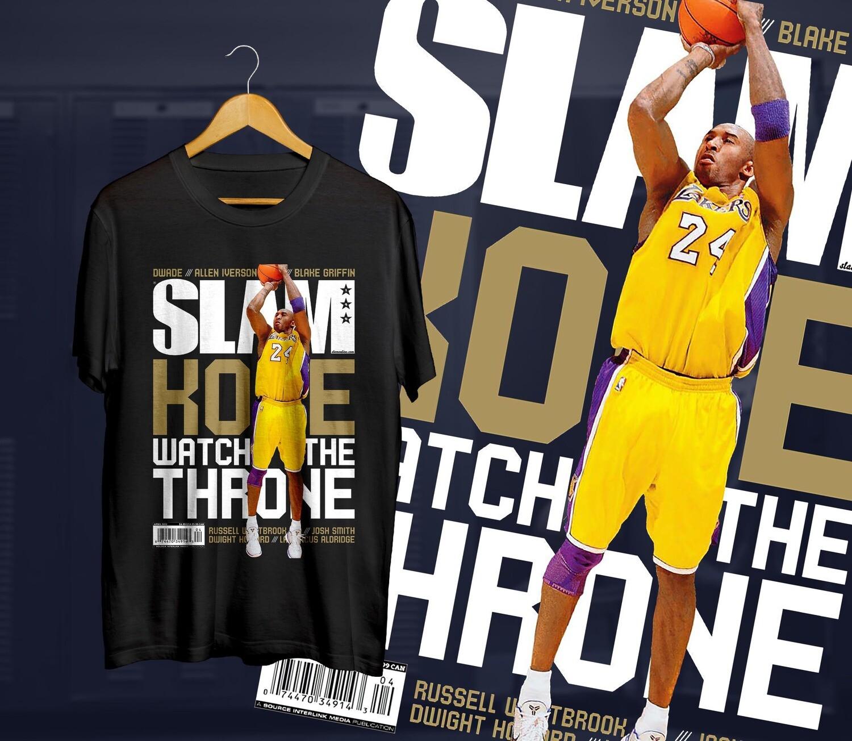 Kobe the throne  Slam t-shirt