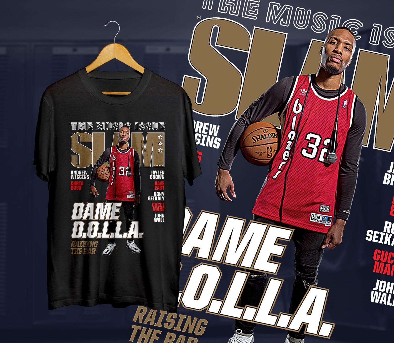 Lillard  Slam t-shirt