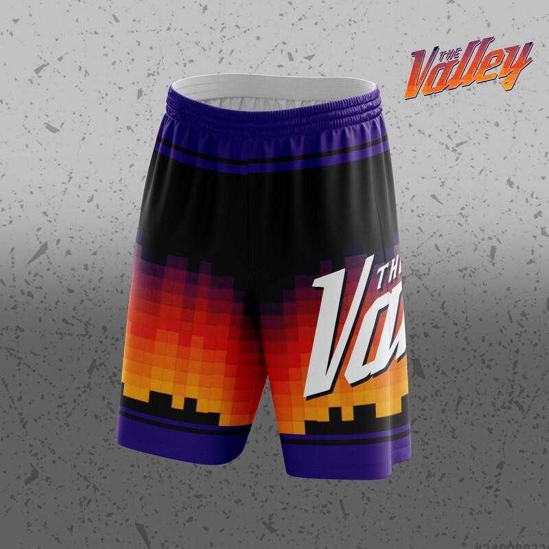 The valley Big Logo Shorts