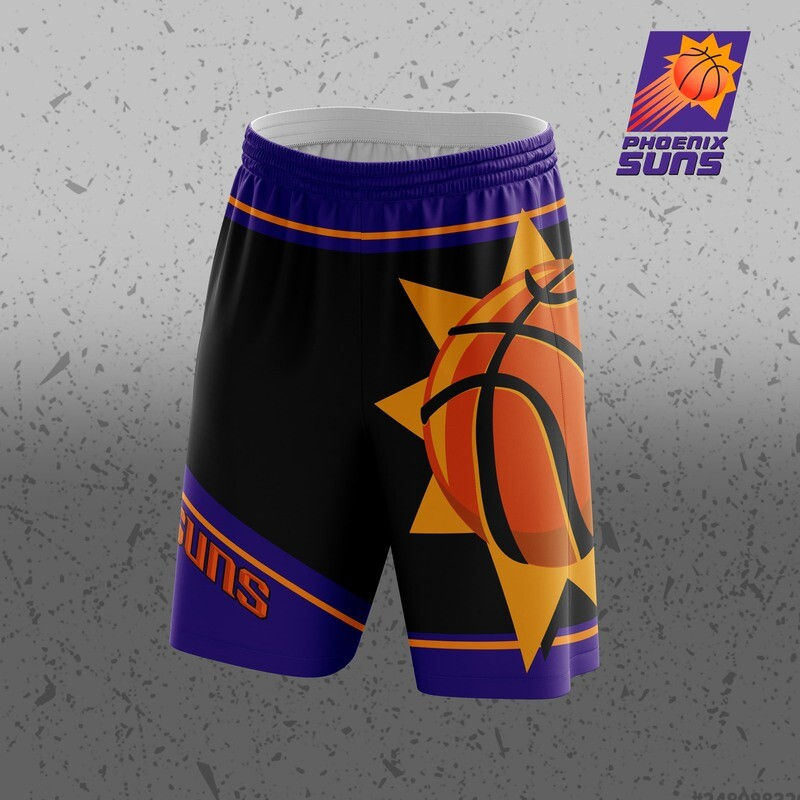 Phoenix Suns  Big logo Shorts