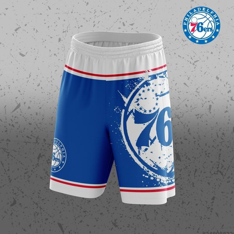 Phila  Big Logo Shorts