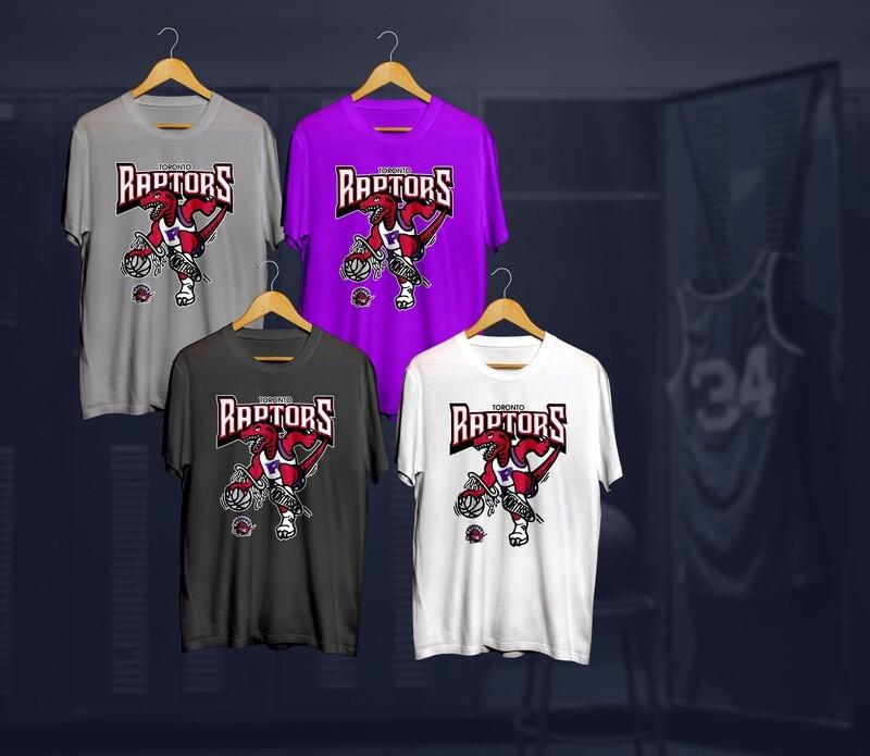 Raptors mascot t-shirts