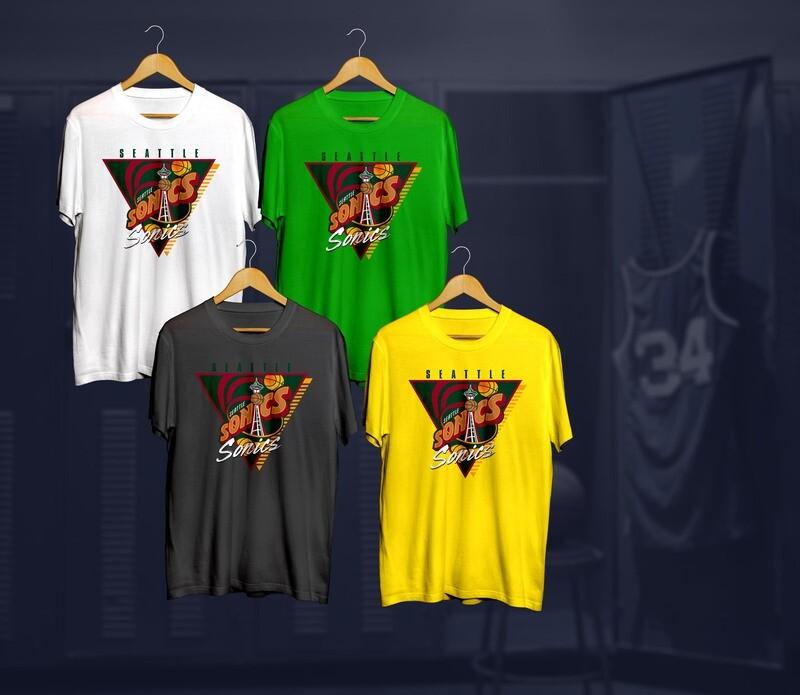 Sonics triangle  t-shirt