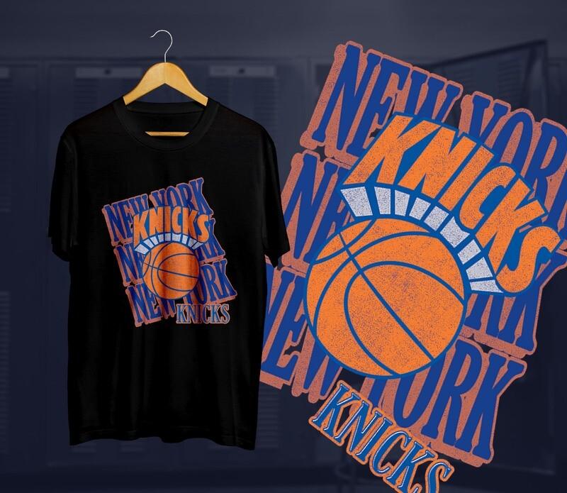 Knicks Lettering  t-shirts
