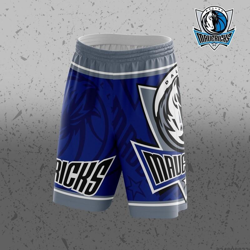 Dallas Big Logo Shorts
