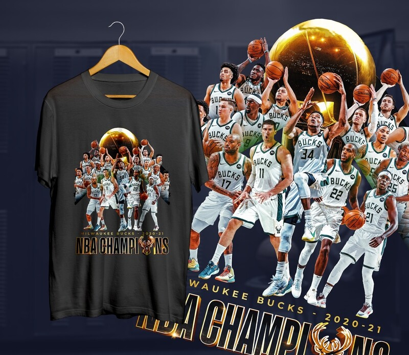 Bucks Team Champs  t-shirt