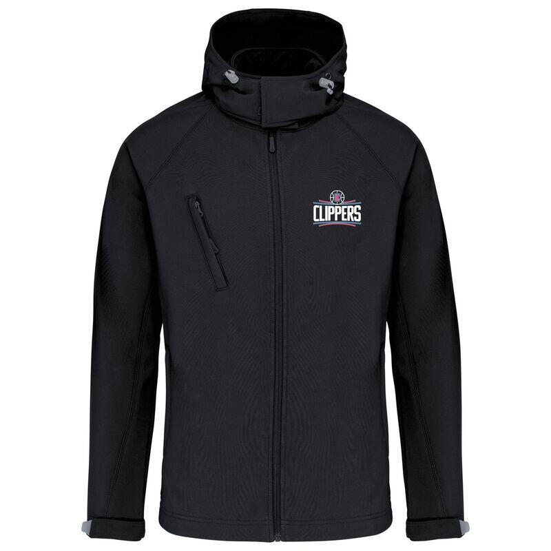 clippers softshell jacket