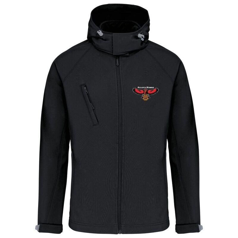 atlanta retro softshell jacket