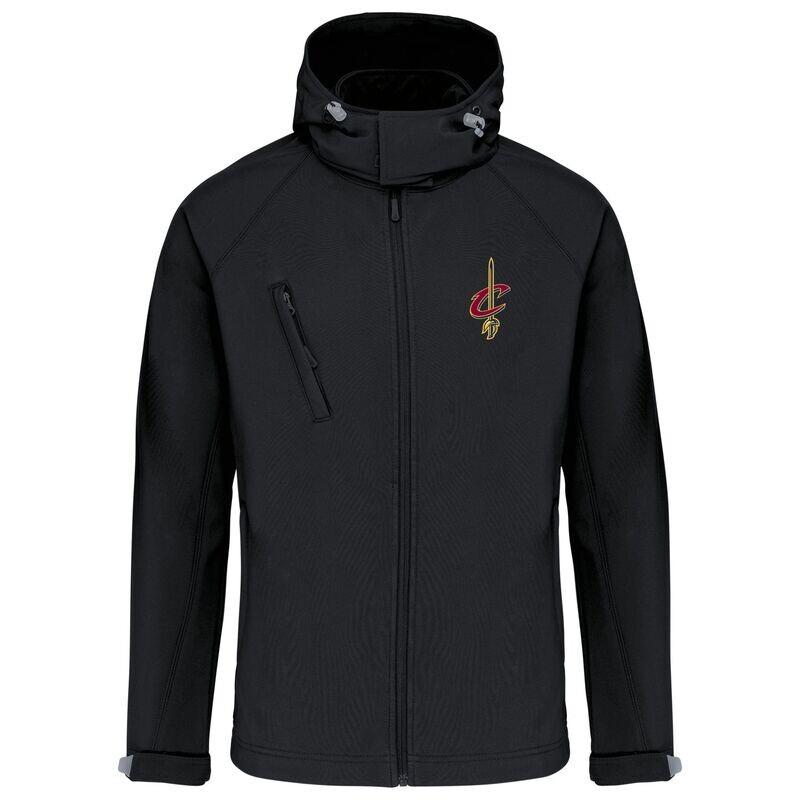 cleveland softshell jacket