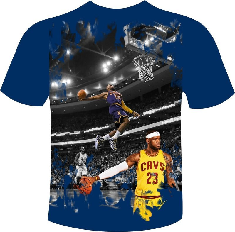 Lebron full print t-shirt