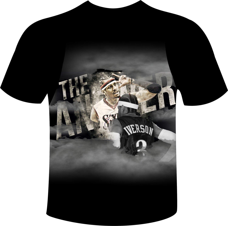 Iverson full print t-shirt