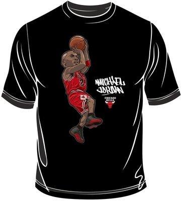 Michael caricature t-shirt