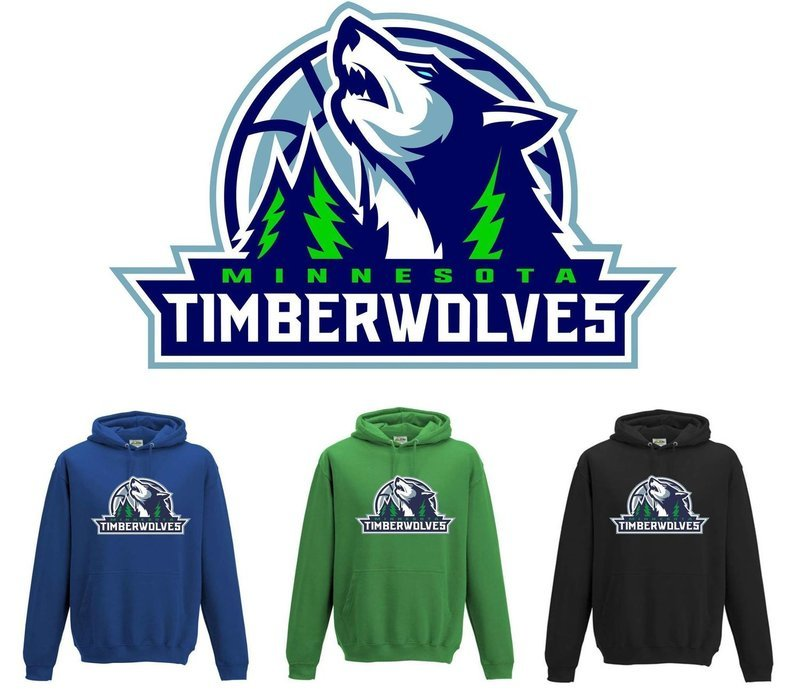 Timberwolves Hoodies