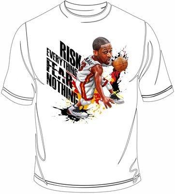 Wade caricature t-shirt