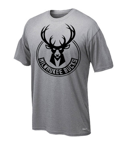 Dryfit t-shirt Milwaukee only black