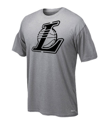 Dryfit t-shirt Lakers only black
