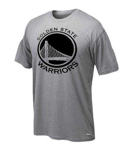 Dryfit t-shirt Golden state only black