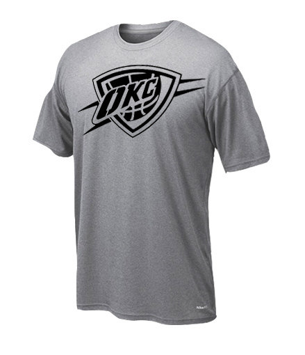 Dryfit t-shirt oklahoma only black