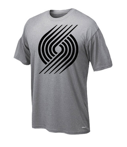 Dryfit t-shirt Blazers only black