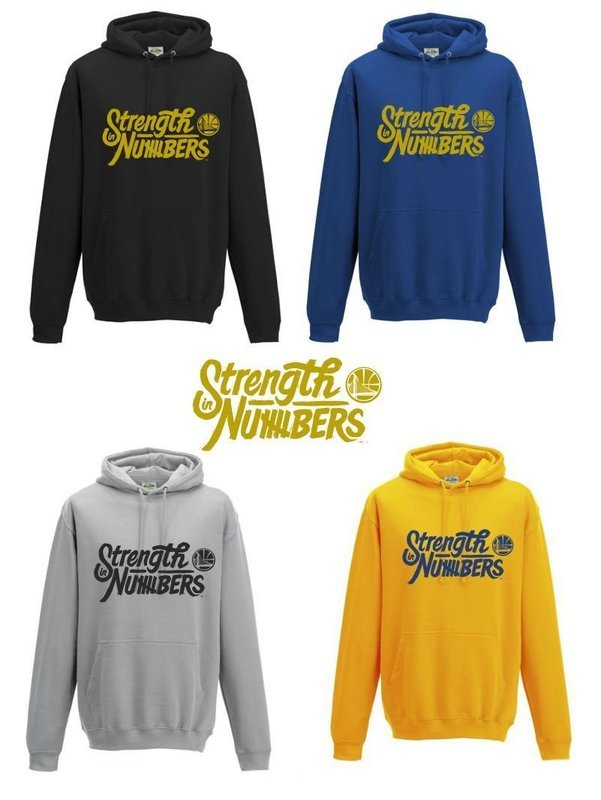 Strength in hoodies