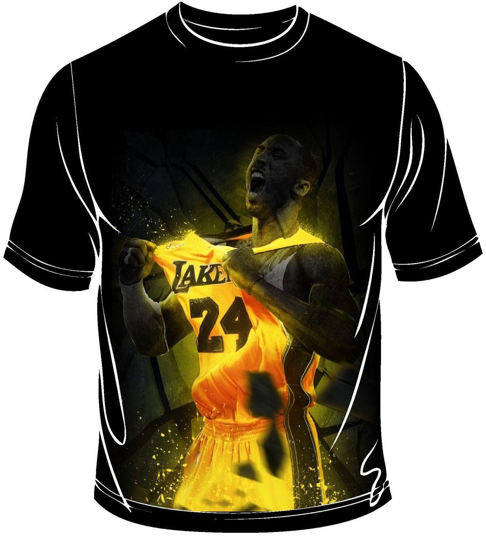 Kobe gold full print t-shirt