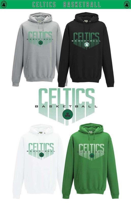 Boston basketball hoodies