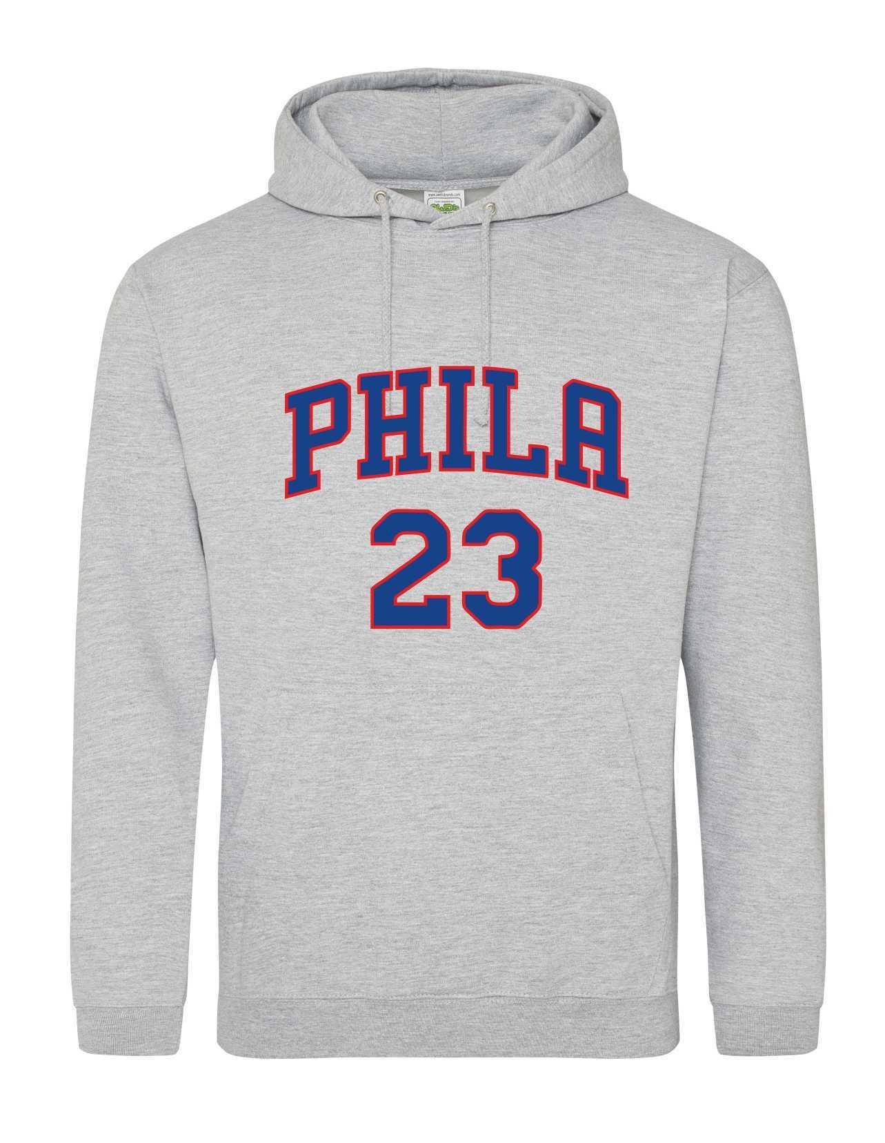 Phila 23 grey hoodie 513