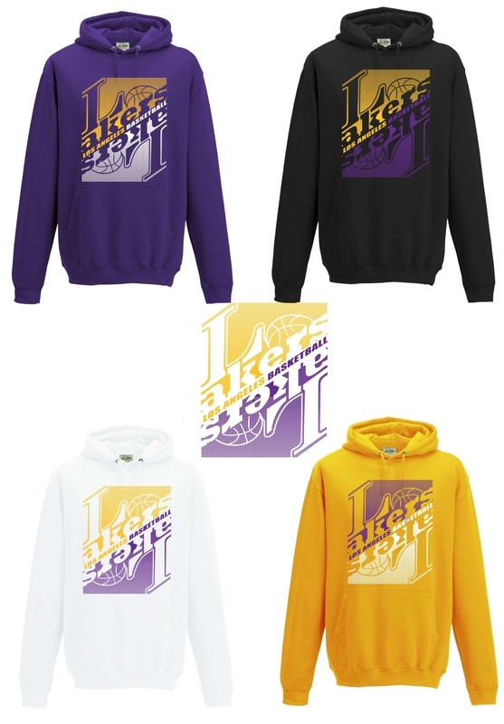 Los angeles basketball hoodies